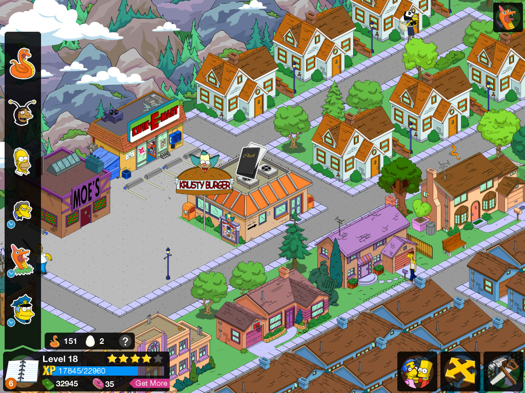 1086: The Simpsons: Tapped Out