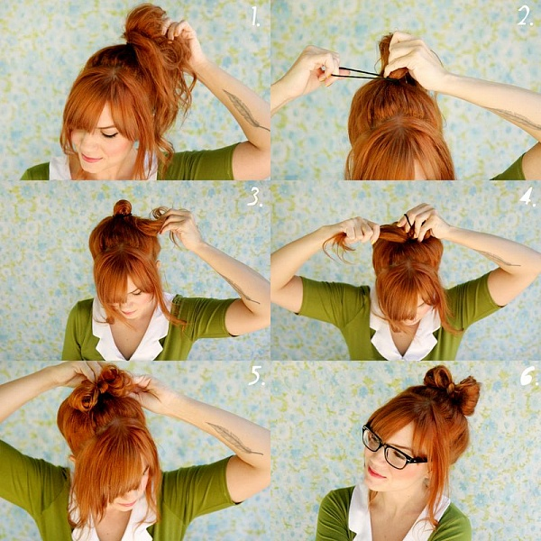 Прически на каждый день для девушки с длинными волосами