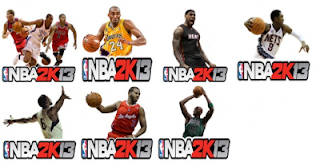 NBA 2K13 Free Desktop Dock Icons