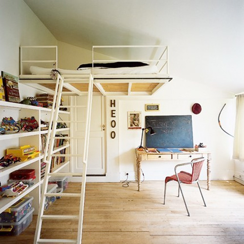 Building a garage mezzanine joy studio design gallery best design - Lit mezzanine 2 places ...