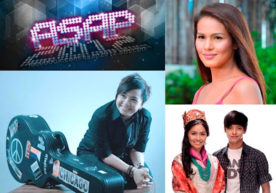 ASAP 2012 Celebrates Iza Calzado's Birthday plus Aiza Seguerra's 25th Anniversary in showbiz; Kathryn and Daniel Launches Princess and I Album
