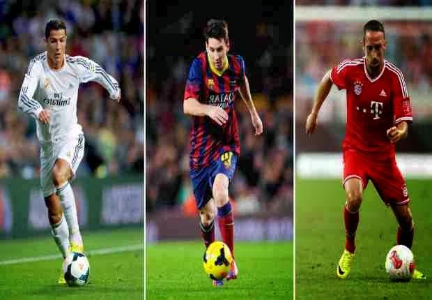 Pemain sepak bola terbaik dunia versi FIFA Ballon D'Or 2013