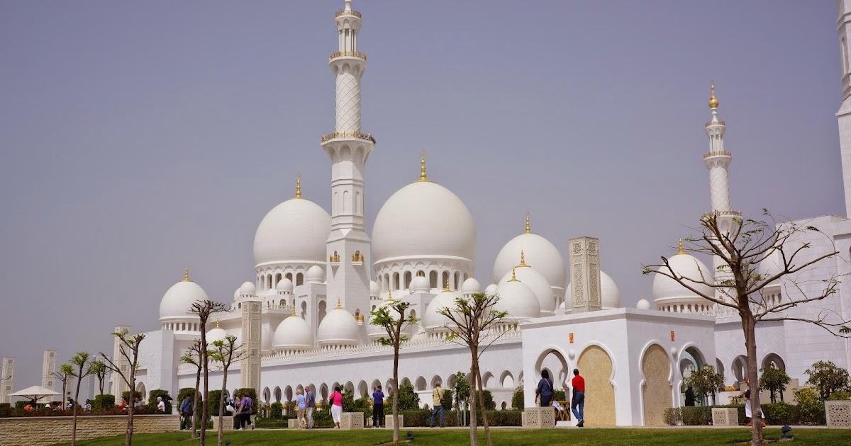 Sheikh Zayed Grand Mosque Abu Dhabi Uae Travel Guide