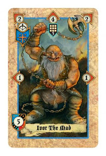 Lords of war card game review  Ivor The Mad