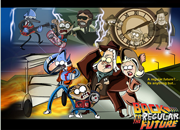 Back to The Future Regular Show