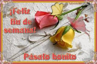 tarjetas de rosas de buen fin de semana