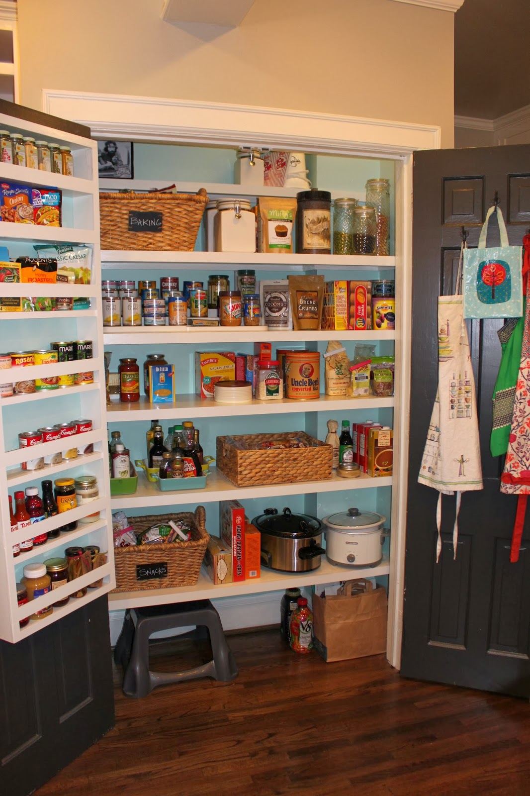 Hook On Shelves For Kitchen Pantry Doors
