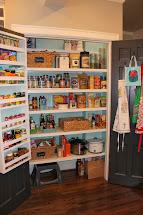Kitchen Pantry Shelving Design