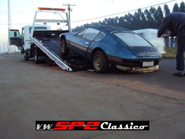 Mais um Volks SP2 que será salvo