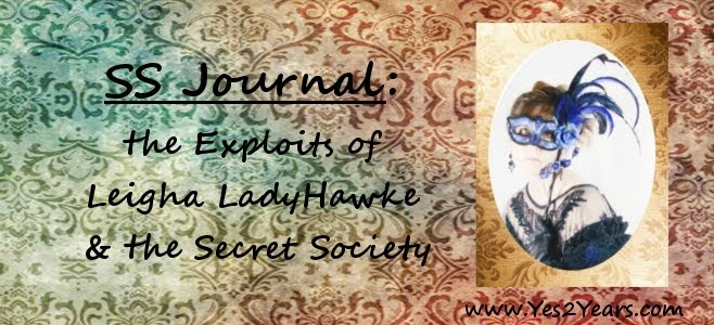 SS Journal: the Exploits of Leigha LadyHawke and the Secret Society