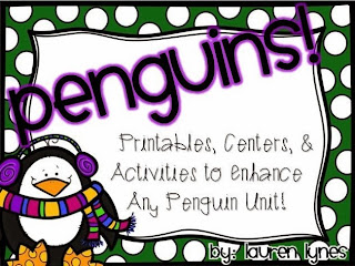http://www.teacherspayteachers.com/Product/Penguins-Printables-Centers-Actvities-to-Enhance-Any-Penguin-Unit-451124
