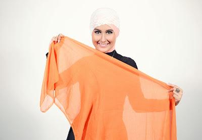 Cara+memakai+jilbab+segi+empat+turban+1 Cara Memakai Jilbab Segi Empat Turban