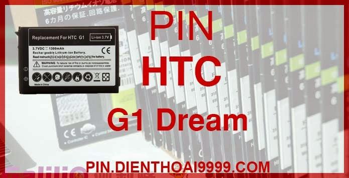 Pin điện thoại HTC G1 - Pin Galilio HTC G1 dung lượng cao 1550mah - Giá 190k - Bảo hành: 6 tháng  - Pin tương thích với điện thoại HTC G1 (HTC Dream)  Thông số kĩ thuật: - Pin Gali HTC G1 dung lượng cao 1550 mAh được thiết kế kiểu dáng và kích thước y như pin nguyên bản theo máy, Pin tiêu chuẩn, chất lượng như pin theo máy. - Kích thước:  - Dung lượng: 1550mAh - Điện thế: 3.7V - Công nghệ: Pin Li-ion Battery  Mô tả sản phẩm: - Pin Galilio nhờ nghiên cứu và phát triển công nghệ lithium nên đã đạt được pin dung lượng cao nhất cho phép (từ 1,5- 2 lần) nhưng vẫn đảm bảo được chất lượng cao, đã vượt qua nhiều tiêu chuẩn chất lượng như ISO 9001, ISO 1400I, CERTIFICATED, hãng cũng ứng dụng Công Nghệ an toàn mà những hãng pin khác không có được: Controller IC, Control swithches, Temperature Fuse.. - Thiết kế kiểu dáng và kích thước y như pin nguyên bản theo máy, thuận tiện và dễ dàng thao tác, pin dung lượng cao cung cấp đủ nguồn điện cho máy sử dụng được trong thời gian dài, có thể mang đi bất cứ đâu để phòng khi pin của máy bạn hết mà không có điều kiện để sạc. - Cho phép bạn giữ các cuộc nói chuyện và bảo đảm cho bạn không bỏ lỡ các cuộc gọi điện thoại quan trọng - Pin sạc bằng cách gắn vào điện thoại và sạc như pin gốc - Sản phẩm đạt tiêu chuẩn tuyệt đối về an toàn cháy nổ - Bảo hành đổi pin mới trong 6 tháng.  GIAO HÀNG VÀ BẢO HÀNH TẬN NHÀ  Quý khách có nhu cầu mua pin,  hãy liên hệ với chúng tôi:  - Khu vực Ba Đình: 0904.691.851 - Khu vực Từ Liêm: 0976.997.907  Website: http://pin.dienthoai9999.com Mua số lượng lớn: 0942299241