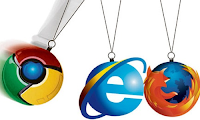ie, google chrome, mozilla firefox