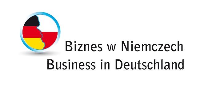 Logo konkursu Biznes w Niemczech