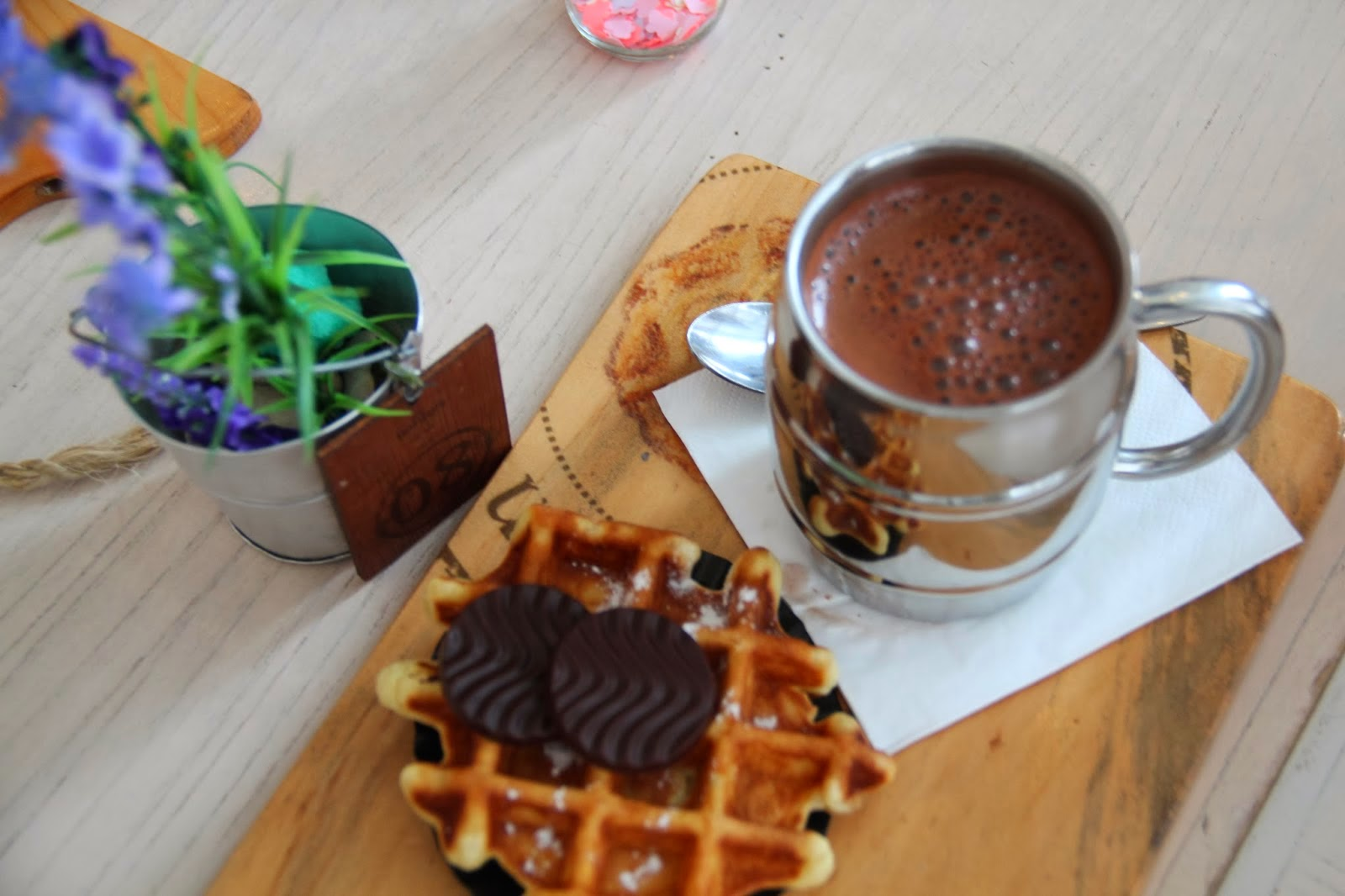 resep hot chocolate