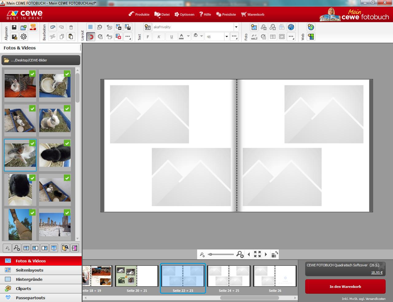 binara s polish bunnies werbung mein cewe fotobuch. Black Bedroom Furniture Sets. Home Design Ideas