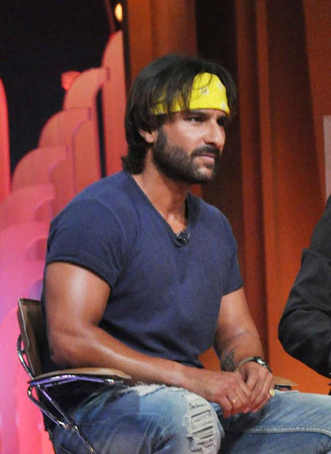 Saif Ali Khan promotes 'Go Goa Gone' at the IPL 6 Extra Time