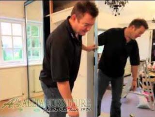 cara perbaikan pintu sliding lemari minimalis