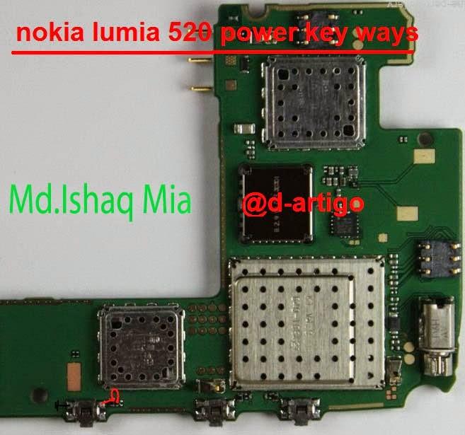 520 power key solution nokia lumia 520 power batton solution nokia