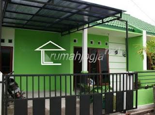 gambar rumah minimalis dengan warna dasar hijau kisah