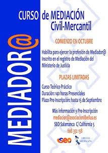 Curso Mediación Civil- Mercantil
