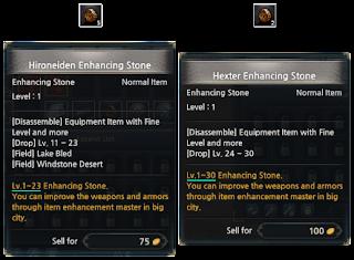 KUF2 - Enhancing Stones