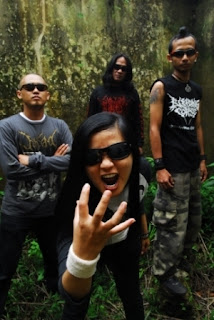 Demons Damn Band Death Metal Bandung Foto Wallpaper Artwork