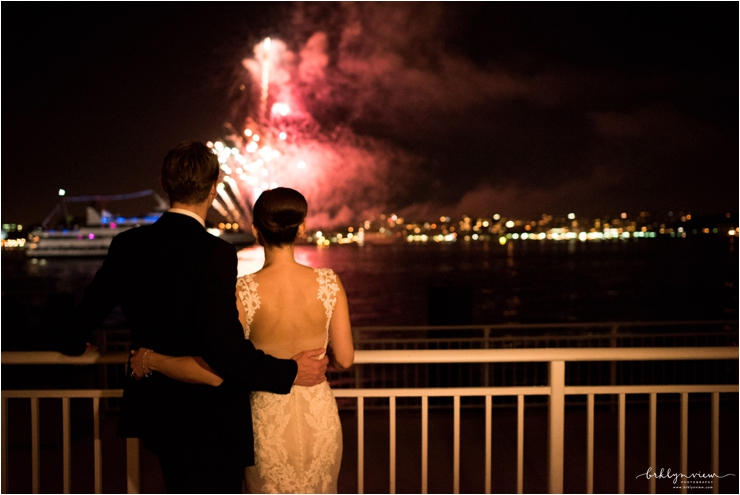 Lighthouse at Chelsea Piers Wedding Photos