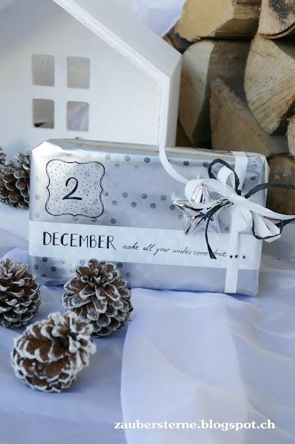 ikea Geschenke, ikea Geschenkpapier, Adventskalender