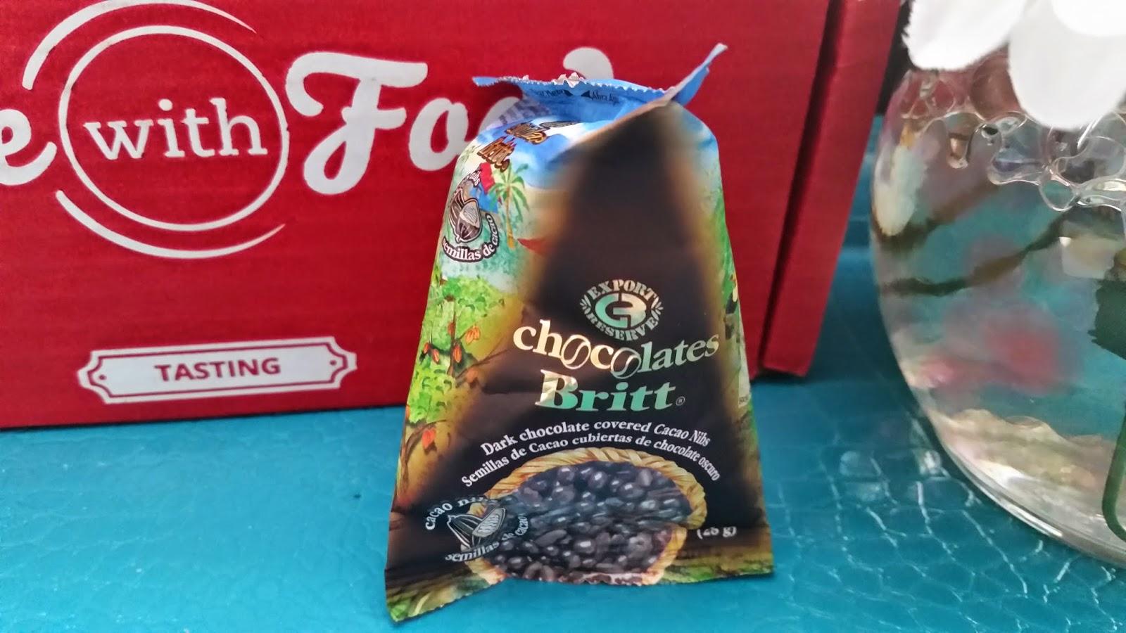 Britt Dark Chocolate Cacao Nibs