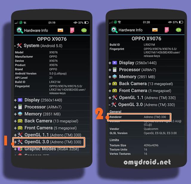 2 Cara Mengetahui GPU Android