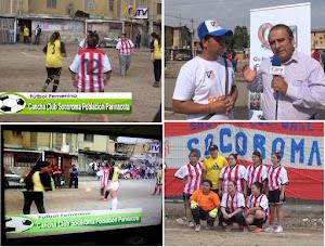 QUILICURA TV DEPORTES Transmisión de partidos desde Población Parinacota Quilicura.