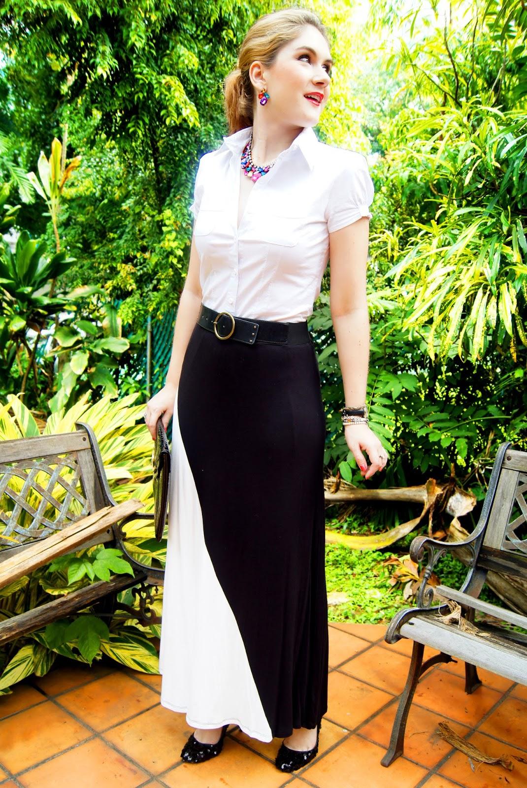 Maxi Skirt Outfit Ideas