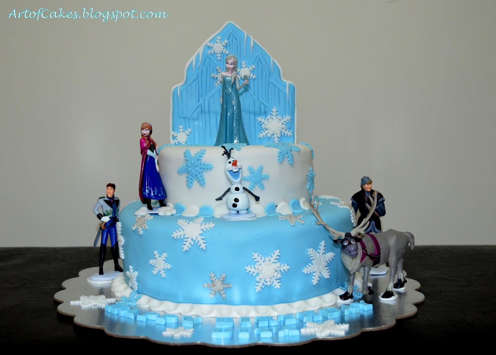 Art Of Cakes Frozen theme Birthday Cake