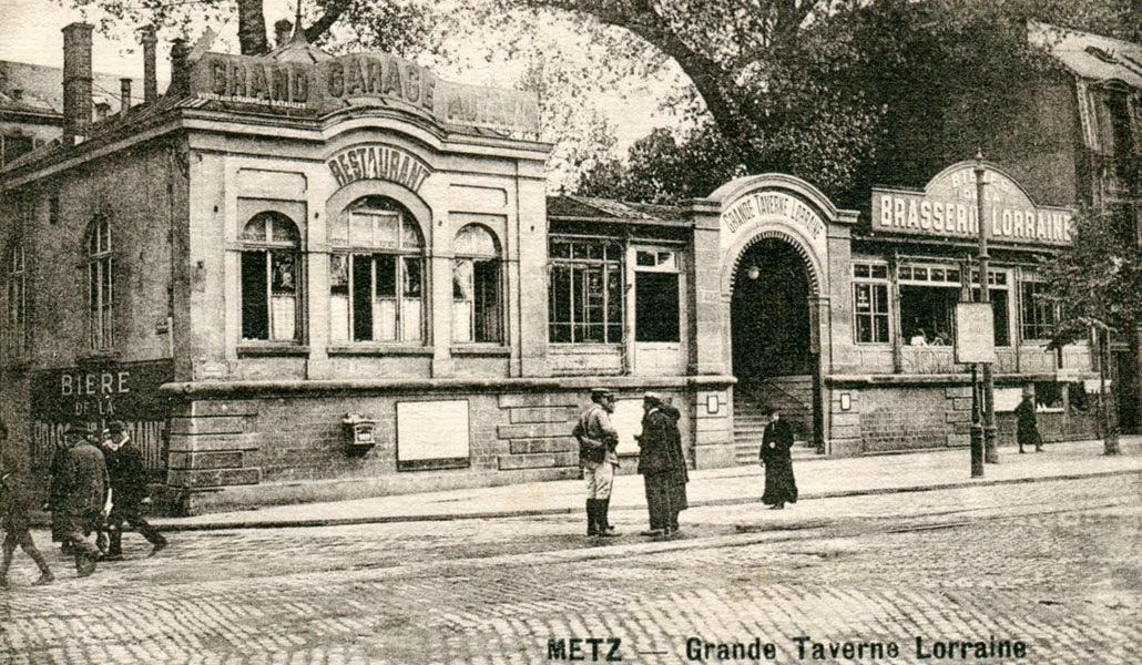 Metz avant en cartes postales anciennes et photos d for Maison d en france metz