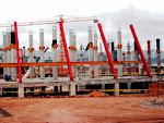 Terminal de Pasajeros en construcción