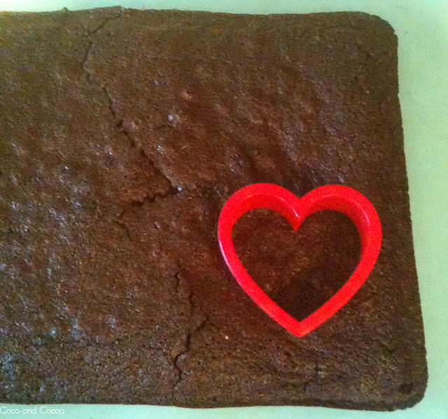 Brownie Love Bites for Valentine's Day
