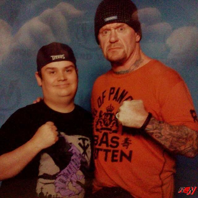 The Undertaker At Comic Con Today.