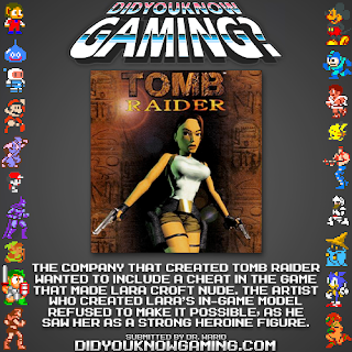 tomb raider fact Random Game Facts   Tomb Raiders Most Famous Hoax