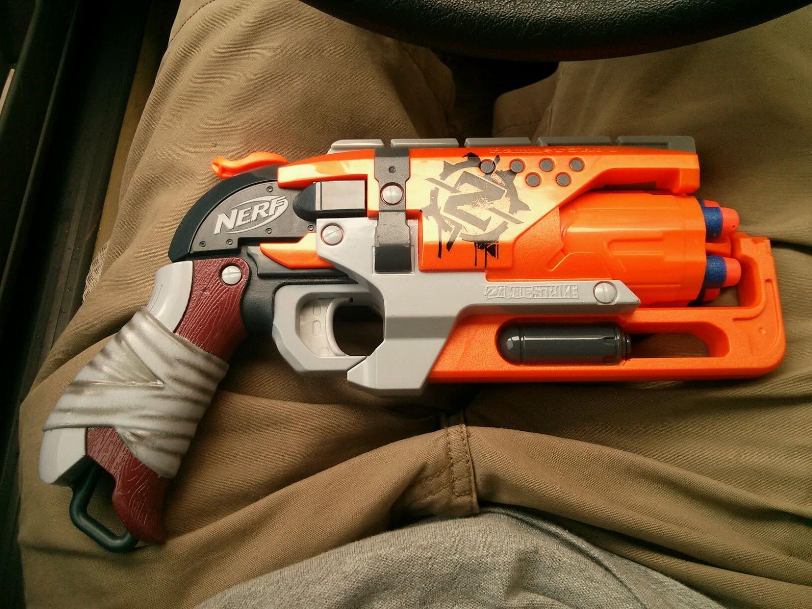 Baidu Nerf Zombie Strike Hammer Shot in grey trigger