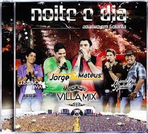 DVD Noite e Dia Ao Vivo Em Goiânia - Villa Mix (2011)