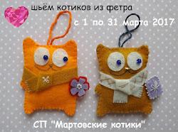 Шьём котиков)))))