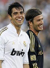 Beckham confirmó la llegada de Kaká a la MLS
