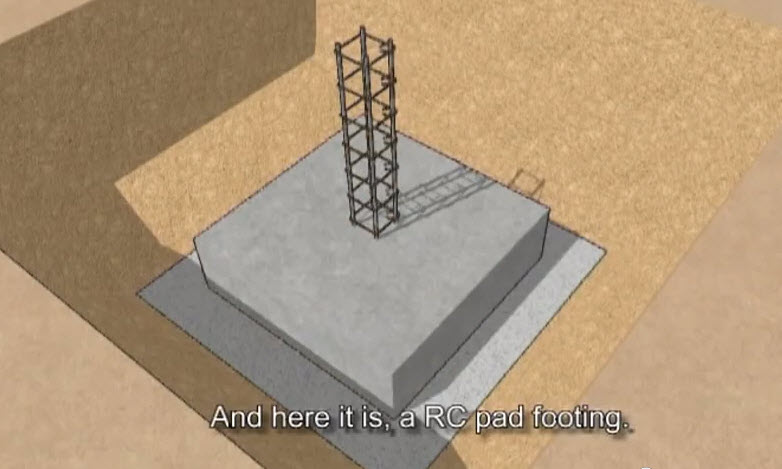 Animation3d Video Showing The Process Of Building And