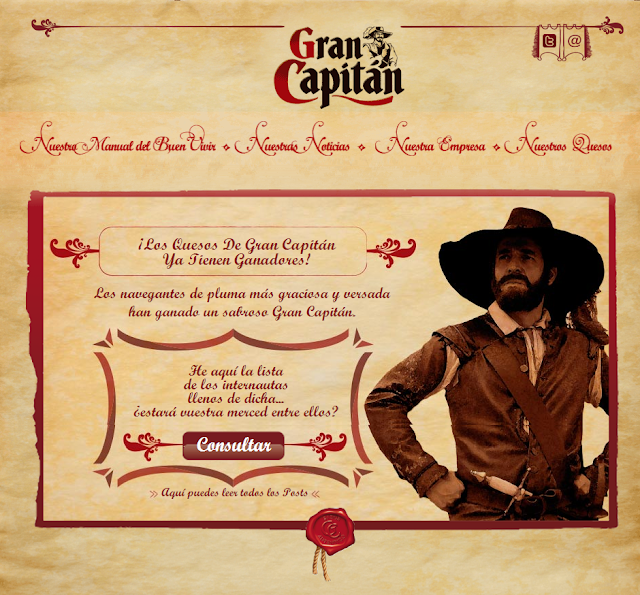 Web El Gran Capitán