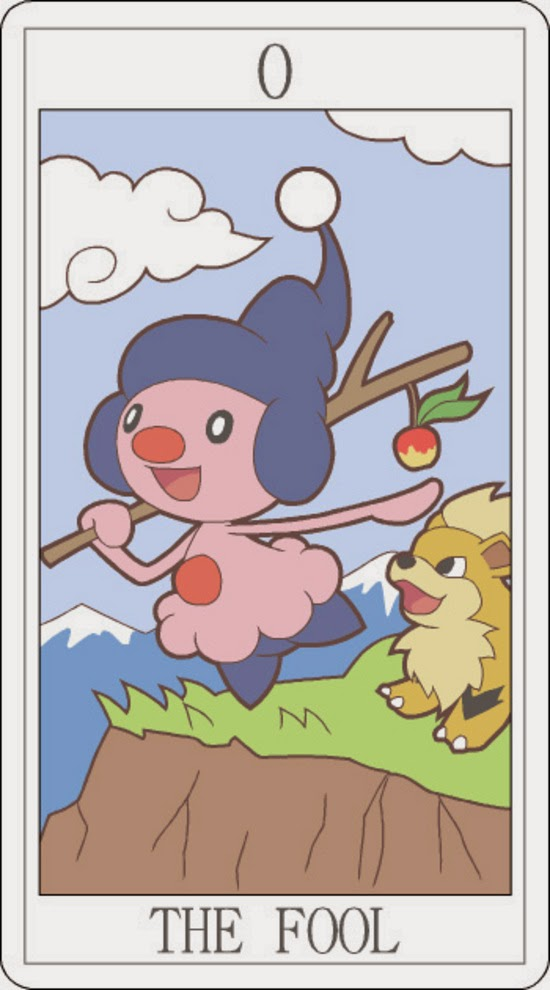Pokemon Tarot - The Fool