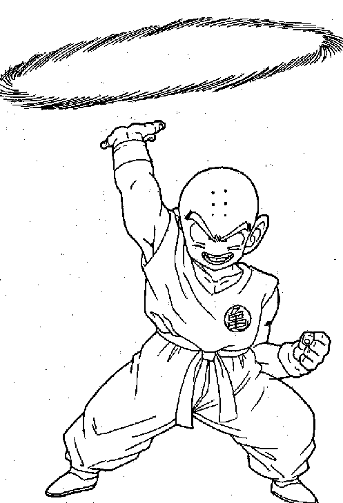 Cartoons Coloring Pages Dragonball