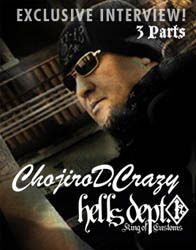 Chojiro D.Crazy Interview