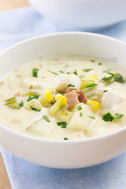 Fish Chowder Soup Quick Hearty Christine 39 S Recipes